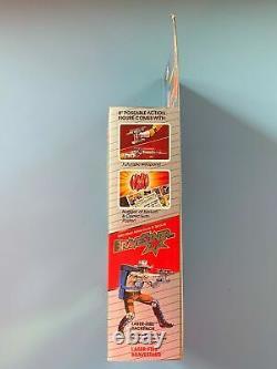 1986 LASER FIRE BRAVESTARR Action Figure MINT SEALED In Box RARE Mattel MIB