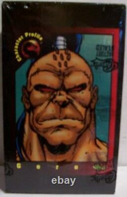 1992 Classic Mortal Kombat Factory Sealed Box Of 36 Packs Very Rare