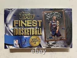 1996-97 Topps Finest Basketball Series 2 Factory Sealed Box Kobe Bryant RC Rare