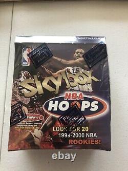 1999-2000 Skybox NBA basketball Box Factory Sealed Box! Rare