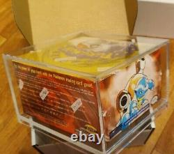 1999 Pokemon Base Set Booster Box Green Winged Charizard SUPER RARE