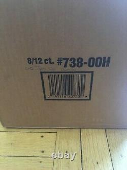 2000 Topps Football Jumbo Hobby 8 Box Sealed Case Rare