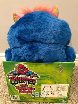 2001 My Pet Monster, Brand New With Tags, Original Box, Shackles/Handcuffs-RARE