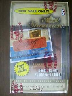 2003-04 Fleer Showcase Basketball Hobby Blaster Box EXTREMELY RARE