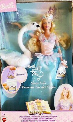 2003 Mattel B5828 Barbie Of Swan Lake Doll Retired Very Rare NIB