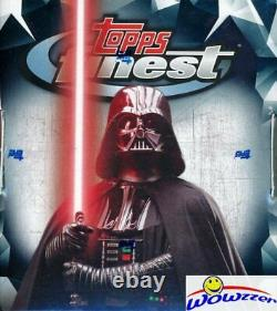 2018 Topps FINEST STAR WARS HUGE Factory Sealed HOBBY Box-2 HITS! Rare