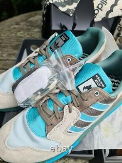 Adidas ZX420 Hanon UK11 US11.5 Luck Of The Sea 1/200 Box Set 2 Pairs Rare BNIB