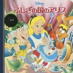 Alice in Wonderland Figure With Music Box Disney store Japan Kawaii Rare
