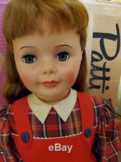 An Actually MINT Mint in Box 1959 Patti Playpal 36 Rare School Dress Wrist Tag