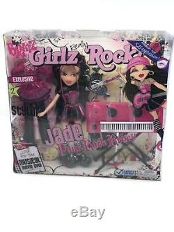 BRATZ GIRLZ REALLY ROCK JADE PUNK ROCK REBEL Rare HTF Toy MGA NEW IN BOX