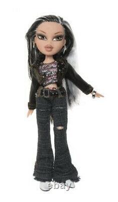Bratz Rock Angelz Collectible Jade Doll Rare With Biker Hat, New In Box
