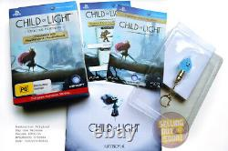 Child Of Light PS3+PS4 RPG Game NEW RARE OZI DELUXE Collectors Edition + DLC