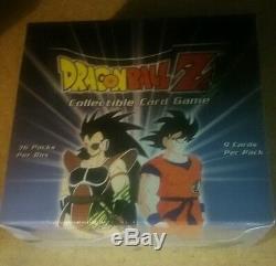 DBZ DragonBall Z Saiyan Saga Booster Box Unlimited 36ct. English Sealed Rare L@@K