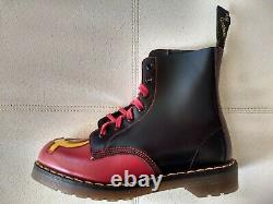 DOC DR. MARTENS SICKLE & HAMMER BOOTS NEW WithBOX MADE IN ENGLAND RARE VINTAGE 5UK