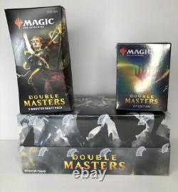 Double Masters VIP Edition Booster Box's Sealed Magic The Gathering Rare lot 3