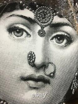 FORNASETTI WALL PLATE AUTHENTIC ITALY NEW IN BOX RARE COLLECTIBLE Sale 1 left