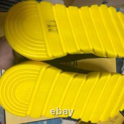 Fendi Socks Sneakers Men Shoes Yellow Super Rare 28cm Us10 New In Box Fashion