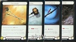 Flesh and Blood TCG Crucible of War Case (4 Boxes) Sealed Alpha 1st Ed + Promos
