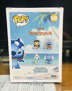 Funko Pop! Disney Superhero Stitch #506 Pop In A Box Exclusive. Rare. Mint. A+
