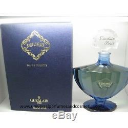 Guerlain Shalimar for Women EDT 4.2 oz / 125 ML Splash Box Vintage Rare