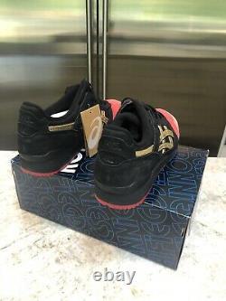 Kith Ronnie Fieg Asics Gel-Lyte III 252.1 Black Size 11 New In Box RARE