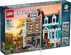 LEGO 10270, Creator, Bookshop Modular Building, SEALED BOX 1077 pcs! VERY RARE