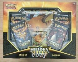 LOT OF 6 Pokemon Hidden Fates Charizard Gyarados Raichu GX Collection Box Sealed