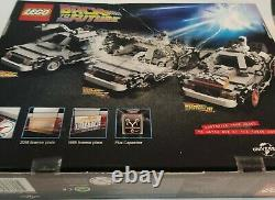 Lego Back to the Future 21103 Rare Retired Sealed but box showing wear