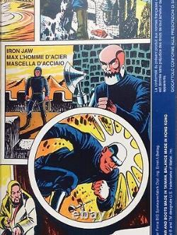 MIB Rare Mattel Big Jim Spy Iron Jaw Custom Dentos Trap Jaw James Bond 007 Box