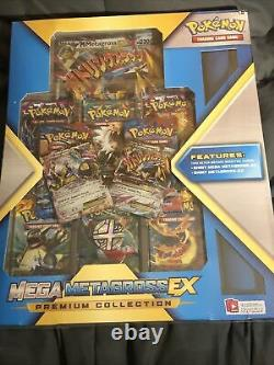Mega M Metagross Ex Premium Pokemon Collection Box Flashfire RARE Sealed