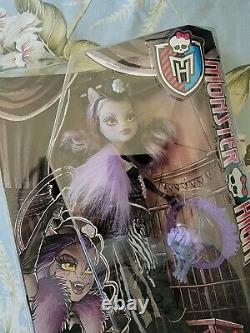 Monster High Freak Du Chic Clawdeen Wolf Doll New in Box Rare and Retired