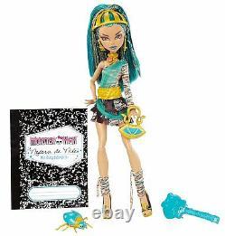 Monster High NEFERA DE NILE Doll New In Box VHTF Original Very Rare 2011