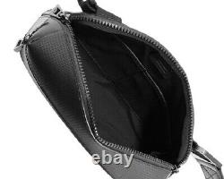 Montblanc Black Extreme 2.0 Leather Bag 123940 Italy New No Box Extremely Rare