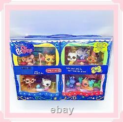 NEW IN BOX Littlest Pet Shop LPS TARGET EXCLSUIVE 12 Pets W Rares #748 #750