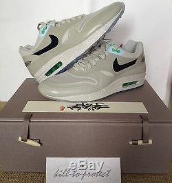NIKE x CLOT AIR MAX 1 SP Kiss Of Death Sz US8 UK7 WithSPECIAL BOX Rare Atmos 2013