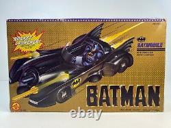 New 1989 Toy Biz Batman Rocket Launcher Batmobile Vintage Rare New In Box
