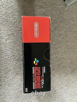 New' Nintendo 3DS XL SNES Super Nintendo Edition Boxed complete SNES RARE