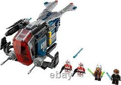 New Sealed Lego Star Wars 75046 Coruscant Police Gunship Rare Discontinued Set