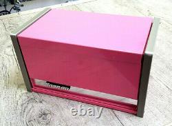 New Snap-On PINK Micro Tool Box RARE TOP & BOTTOM SET MINI-REPLICA JEWELRY