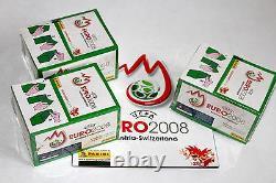 Panini EM Euro 2008 3 x Display Box GRÜN GREEN sealed/OVP RARE SHINY + ALBUM