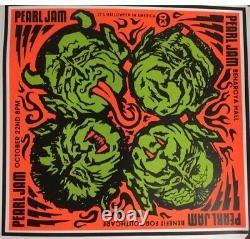 Pearl Jam benaroya Hall -Bundle Rare Vintage Box Set Poster Ticket Of Concert