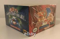 Pokémon 1999 Base Set Booster Box- FACTORY SEALED- Blue Wing Charizard Box RARE