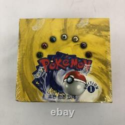 Pokemon Base Set 1 Korean Booster Box 1st Edition WOTC INCREDIBLY RARE