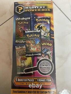 Pokemon Mystery Power Box Brand New Early Edition Vintage Packs 120 Boxes RARE