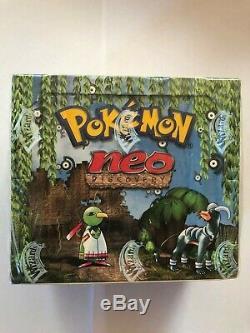 Pokemon Neo Discovery Booster Box English made in Belgium Rare