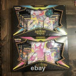 Pokémon Shining Fates Premium Collection Shiny Dragapult & Crobat VMAX Box Set