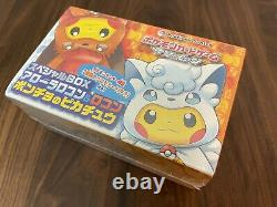 Pokemon Special Box Alolan Vulpix & Vulpix Pikachu Poncho Sealed new Japanese