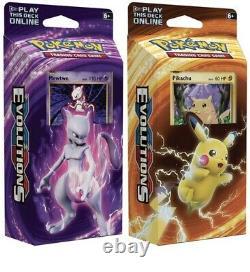 Pokemon TCG XY Evolutions Theme Starter Deck Box (Brand New & Sealed) RARE