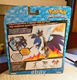 Pokemon Tomy Battle Action Mega Charizard X Figure New In Box 2016 Very Rare Toy