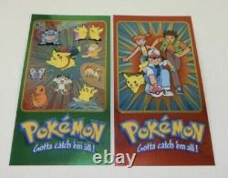 Pokemon Topps Chrome Booster Box 2000. 20x Sealed 5 Card Packs All Inc Charizard